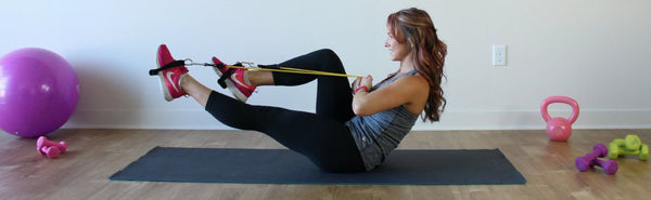 How to lose weight with resistance band