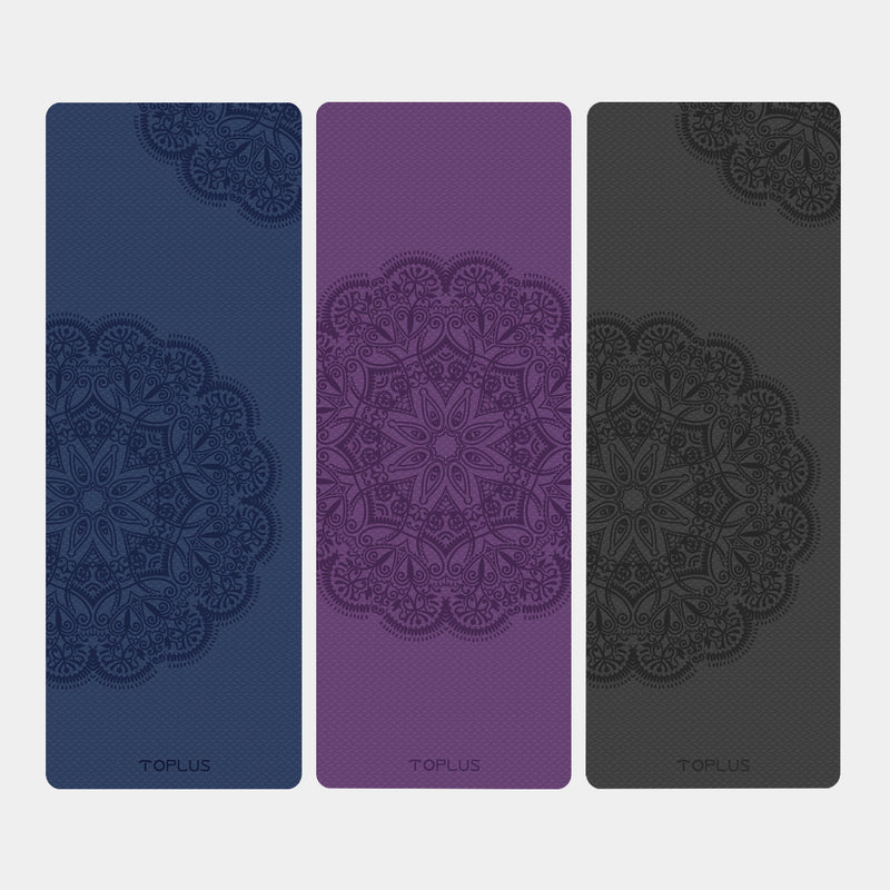 Yoplus yoga mat with special prints