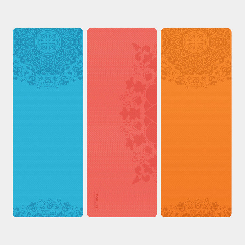 Special design yoga mat made of TPE