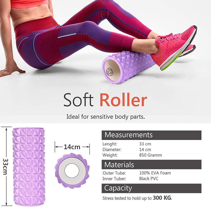 TOPLUS Fitness Foam Rollers For Deep Tissue Massage(EU)