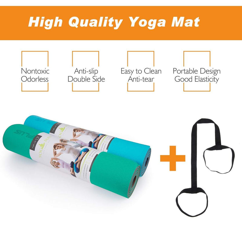 Toplus Yoga Mat for Beginner