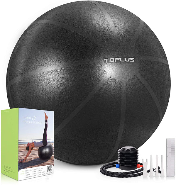 Toplus Exercise Anti-slip Thick 65CM Yoga Ball ——Watermelon pattern