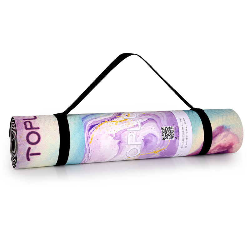 Pretty yoga mat