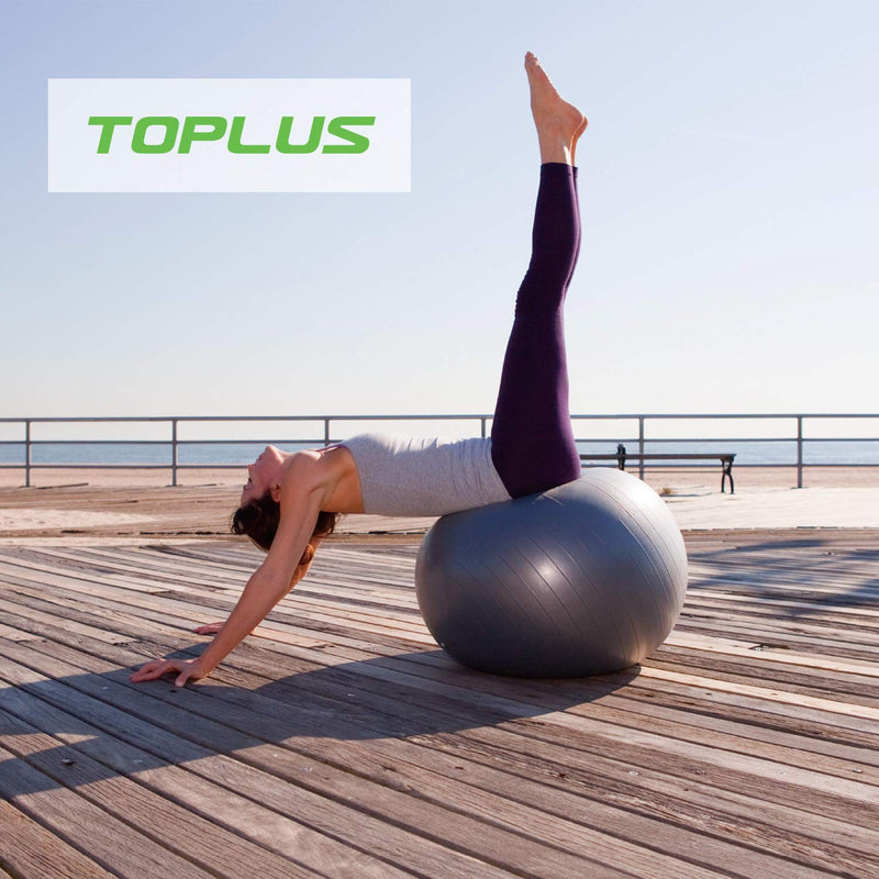 TOPLUS Exercise Ball, Yoga Ball – Toplus