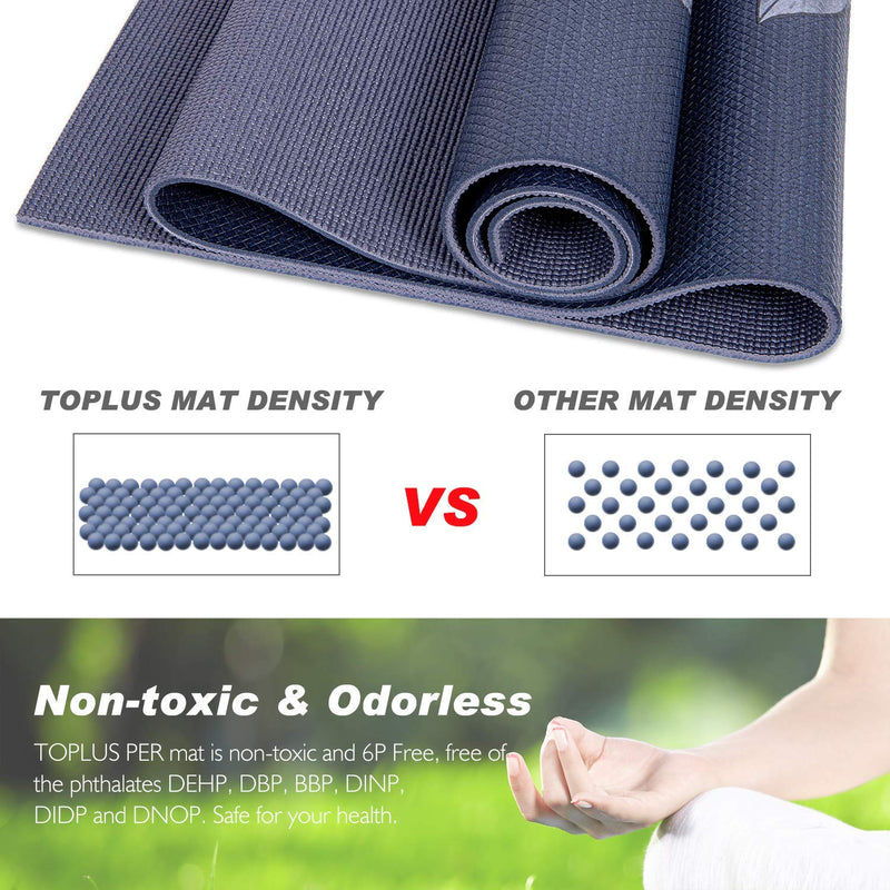 Non- toxic excercise mat