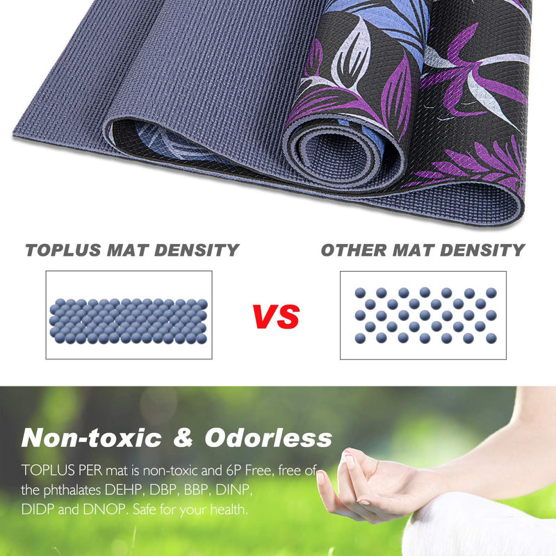 yoga mat density