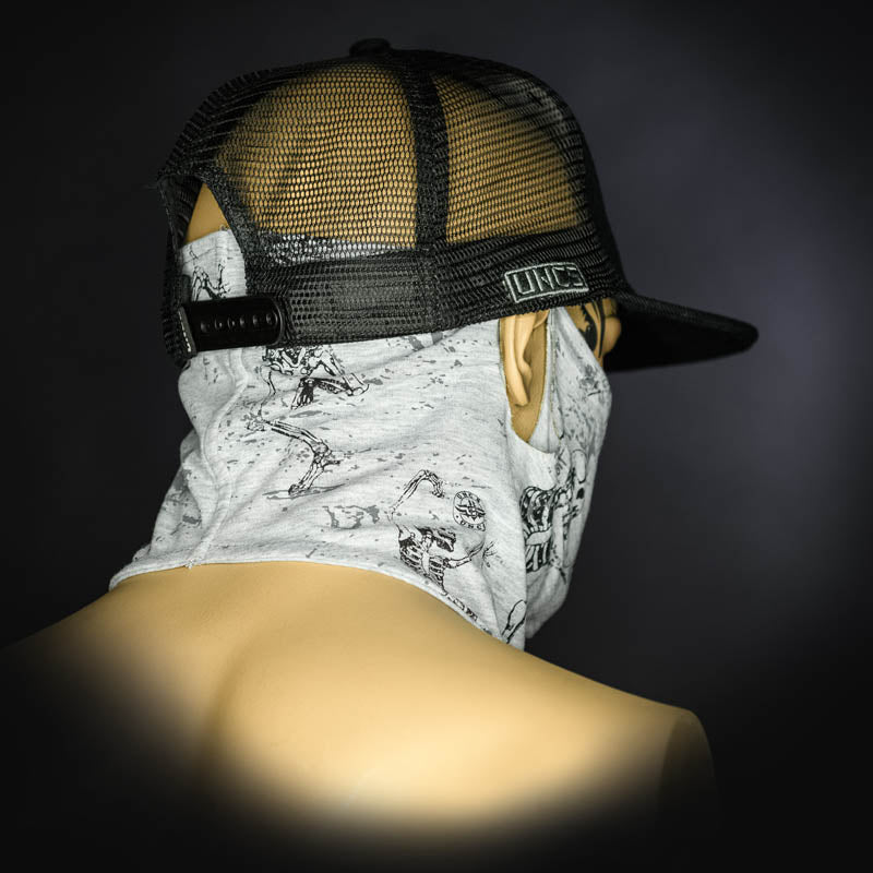 Neck Gaiter - Skeleton/Grey