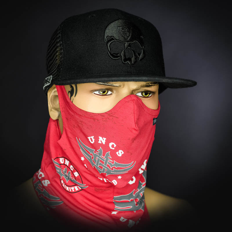 Neck Gaiter - Red