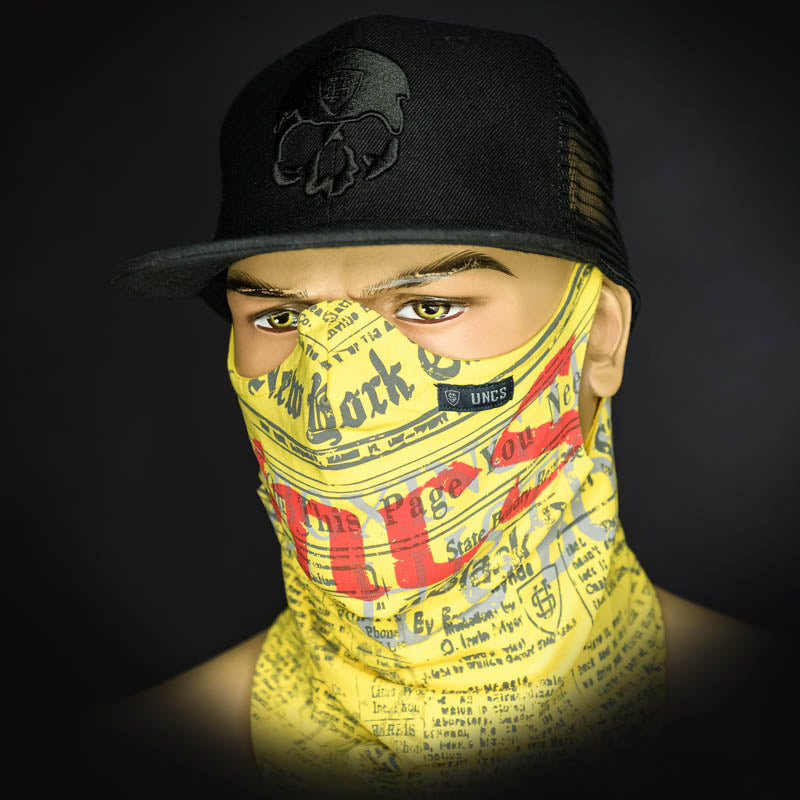 Neck Gaiter - Yellow