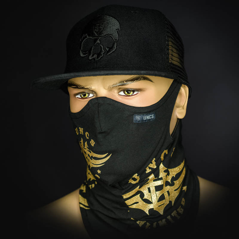 Neck Gaiter - Gold