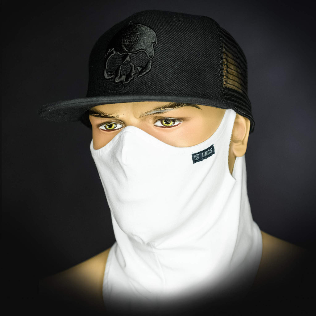 Neck Gaiter - White