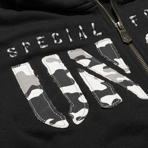 mens zip up hoodie with UNCS