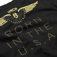 born in the usa tshirt saying