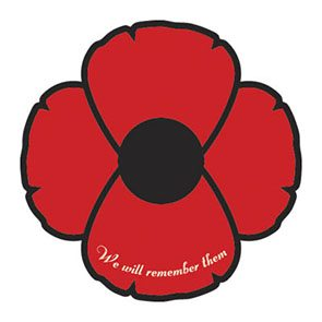 Bumper Sticker – Remembrance Poppy