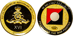 Coin – 16 ALR Challenge Coin