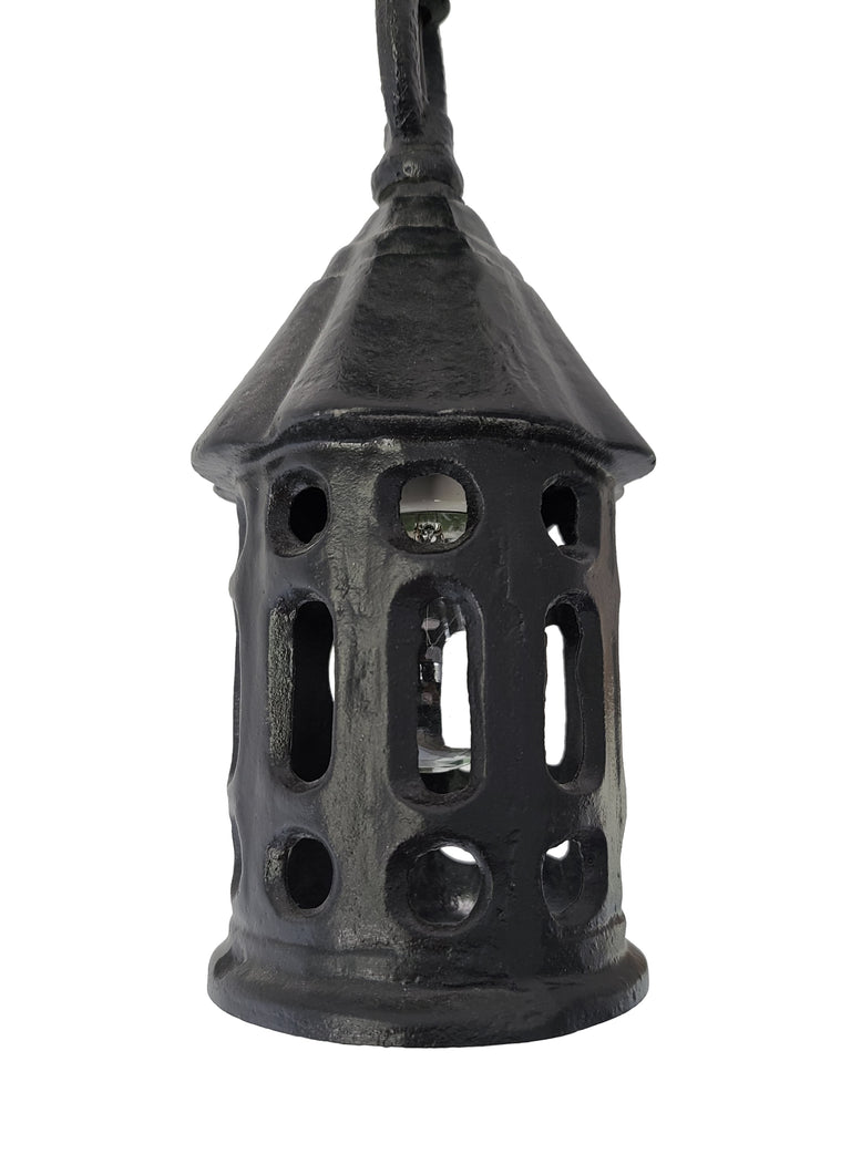 1 of 2 - Arts & Crafts Cast Iron Porch Ceiling Fixture