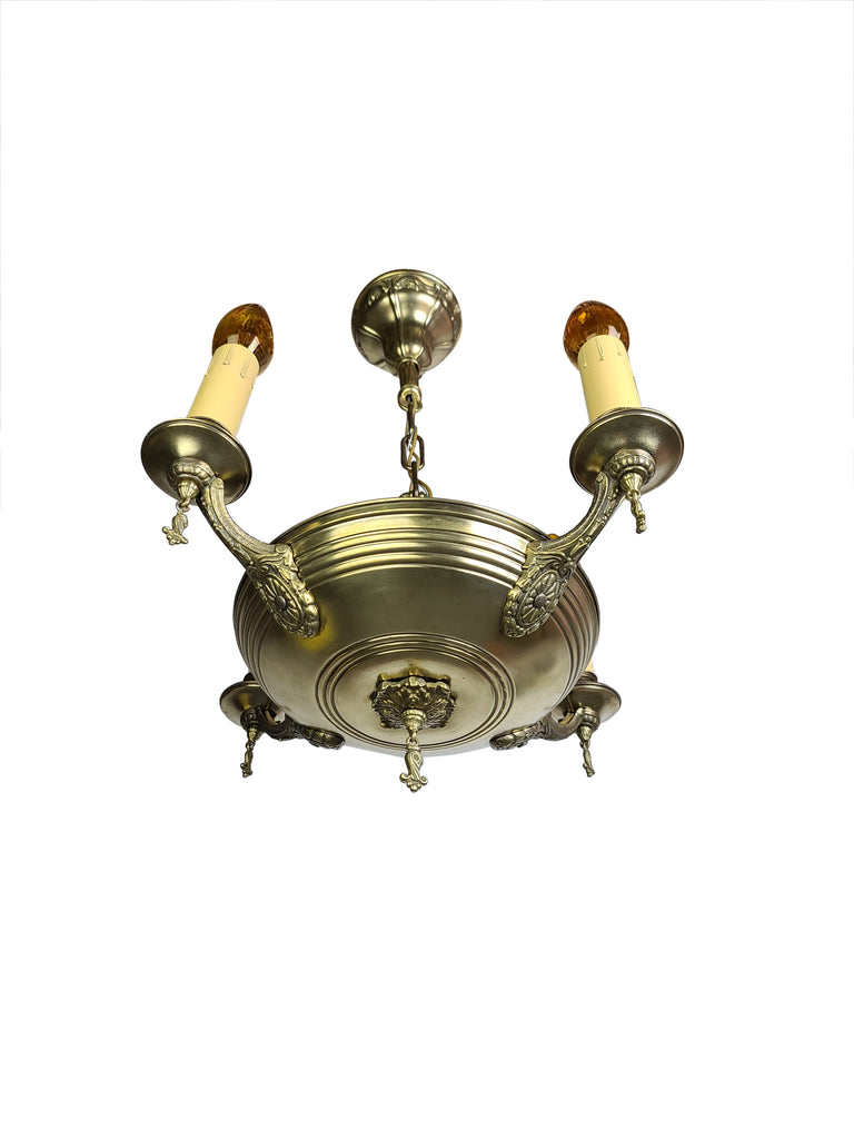 Edwardian Chandelier with 4 Arms