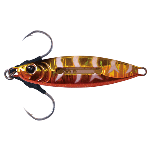 Metal Jacker SJ Copper Zebra Jig