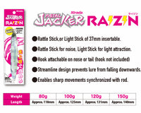 Metal Jacker RAIZIN Purple Zebra Jig