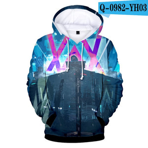 Aikooki New 3d Alan Olav Walker Hoodies Uniquexpress