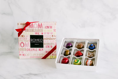 9 Pc Mother's Day Truffle Gift Box - PICK-UP ONLY AT 460 PINE AVE SHOP: May 8 - May 12