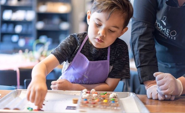 Chocolate Making Workshop for Kids - Saturdays 12:00PM-1:00PM