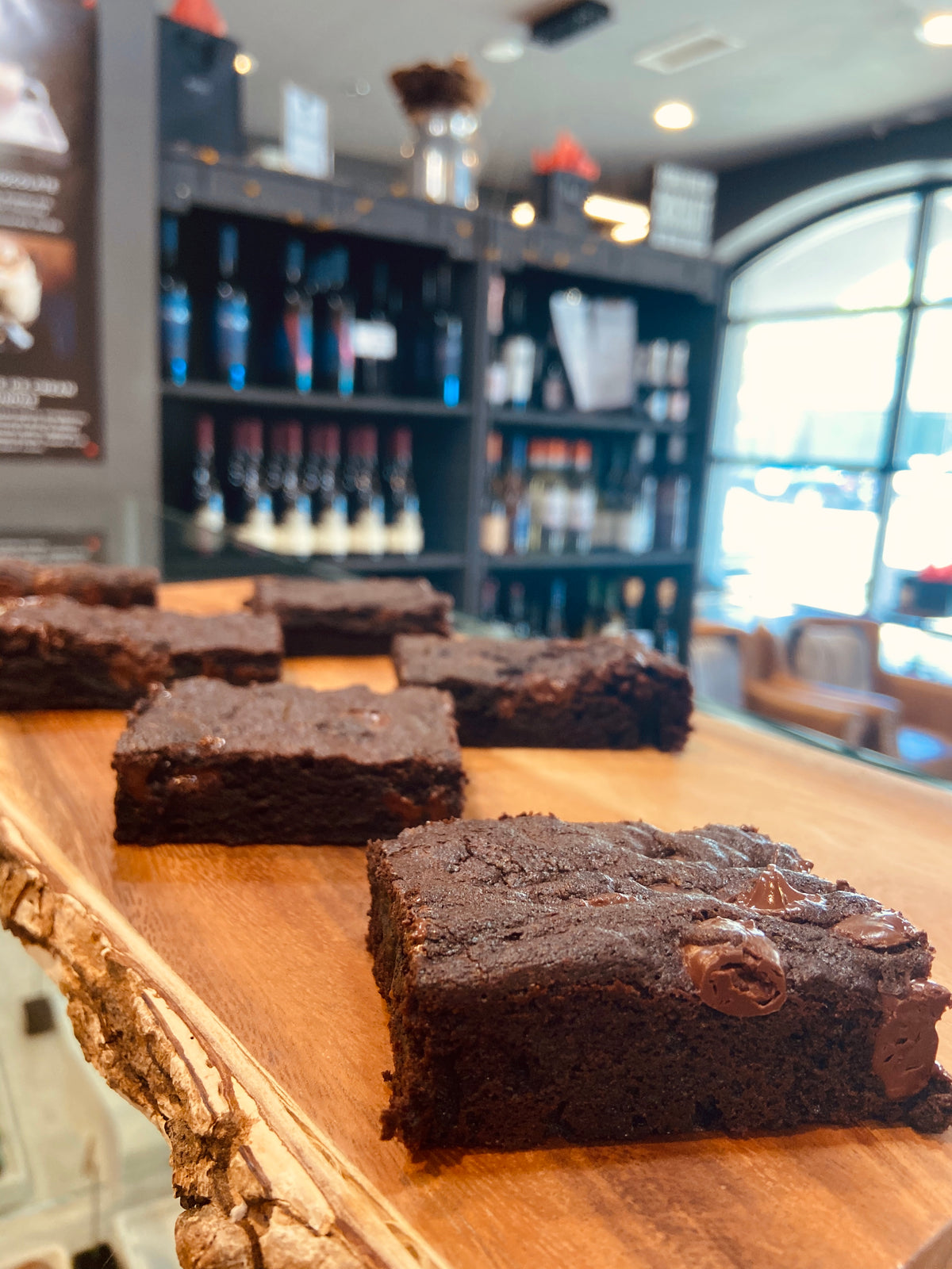 54% Dark Chocolate Belgian Brownie
