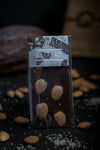 Marcona Almond & Sea Salt Bar - 70% Honduran Dark Chocolate 1 oz