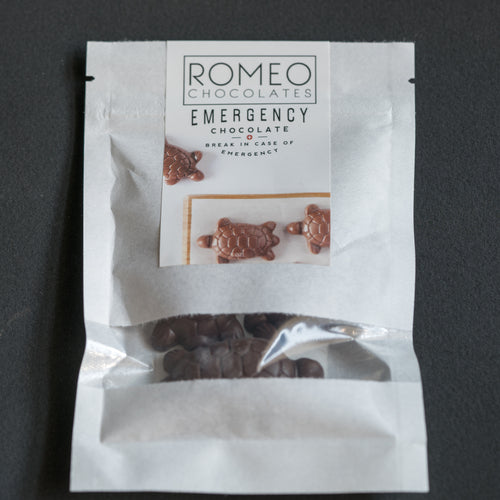 Emergency Chocolate - 54% Belgian Dark Chocolate 1oz