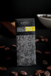 70% Honduran Single Origin Dark Chocolate Bar 1 oz