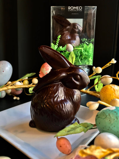 2.3 Oz Belgian Chocolate Easter Bunny