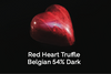 Red Heart Truffle Belgian 54% Dark