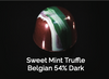 Sweet Mint Truffle Belgian 54% Dark
