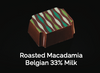 Roasted Macadamia Belgian 33% Milk