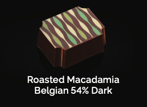 Roasted Macadamia Belgian 54% Dark
