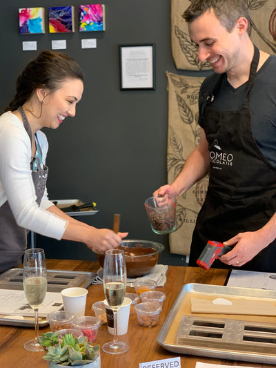 Chocolate Bar Making Workshop for Adults