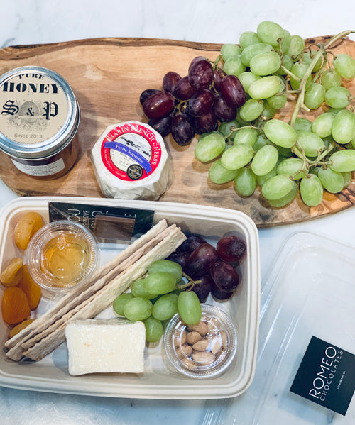 Brie & Local Honey Grazing Snack Kit