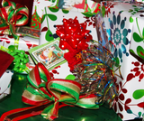 Wrapping paper art
