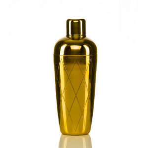 HERGIFT 101 Gold Plated Cocktail Shaker