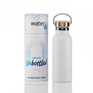 HERGIFT101 Water 3 SMART CHIP White Water Bottle 500ml