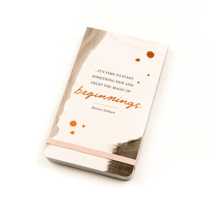 HER GIFT 101  BEGINNINGS  - Note book