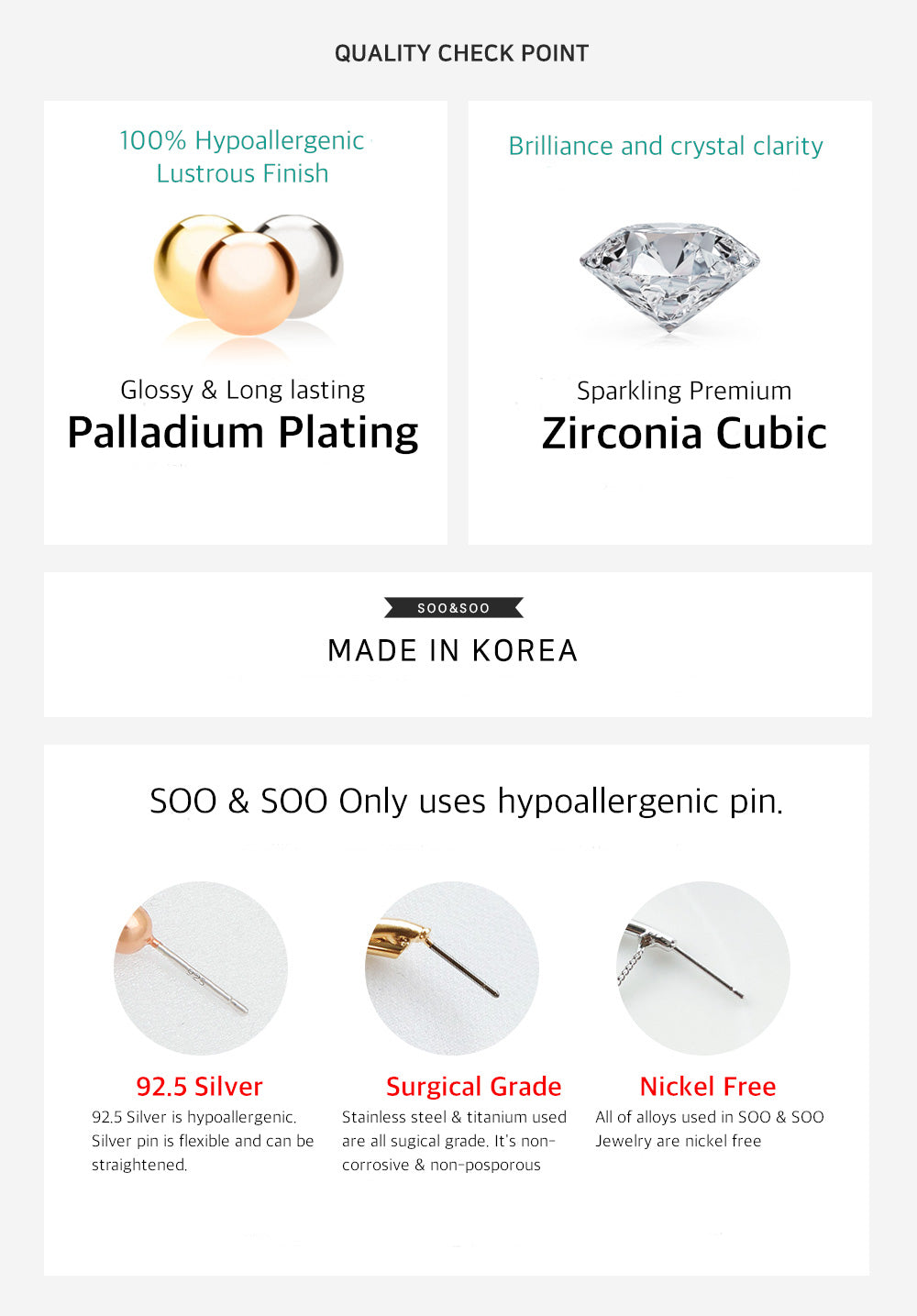 hypeallegenic, earrings, jewelry
