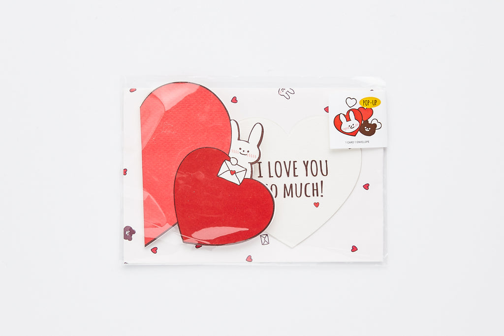 [DMV ONLY] Lovely Bunny Popup Card 01004368