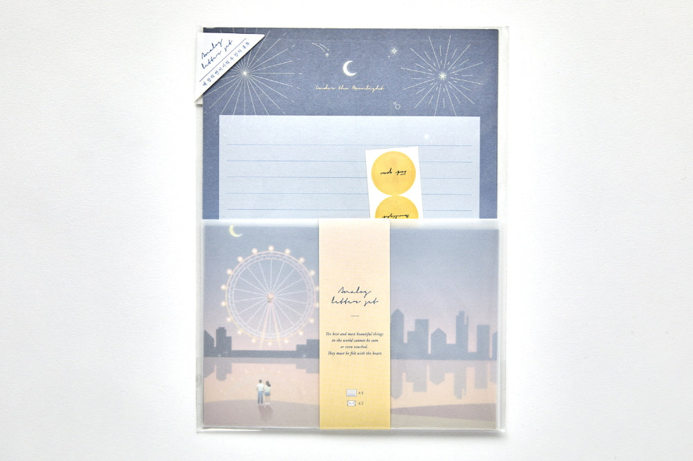 [DMV Only] Night Scenery Letter Paper Set 02005168