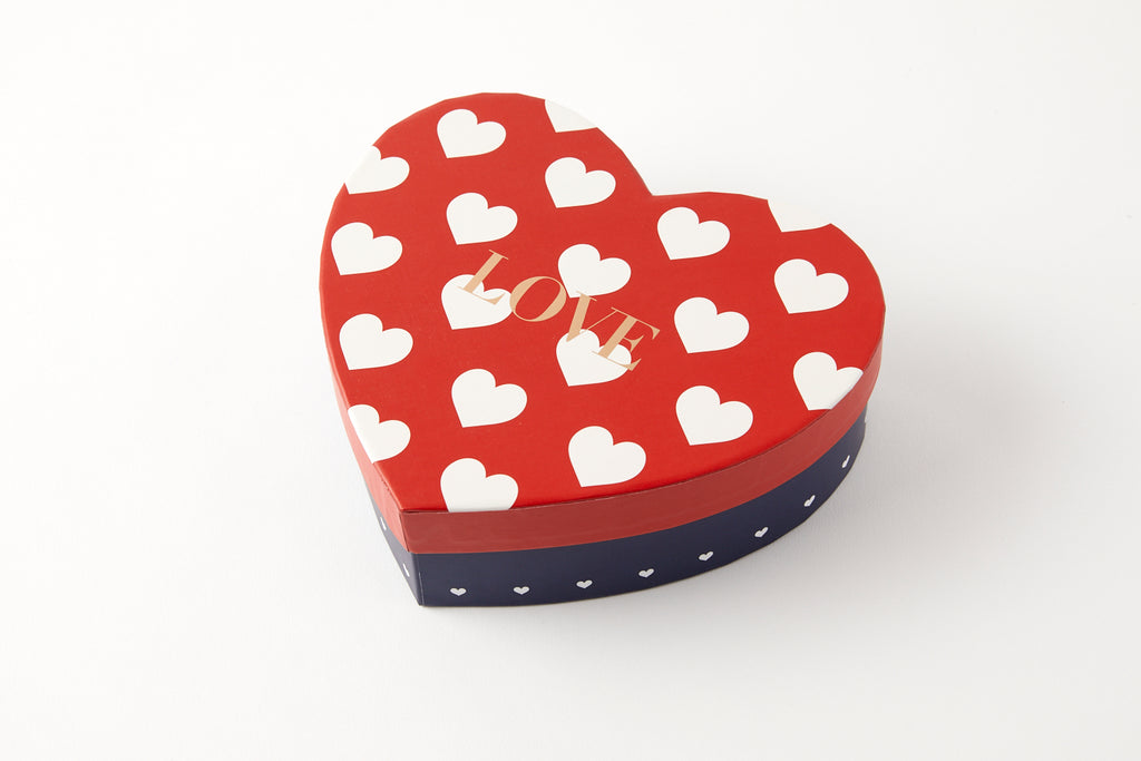 [DMV ONLY] Medium Heart Shape w Red and Blue Gift Box 07004438