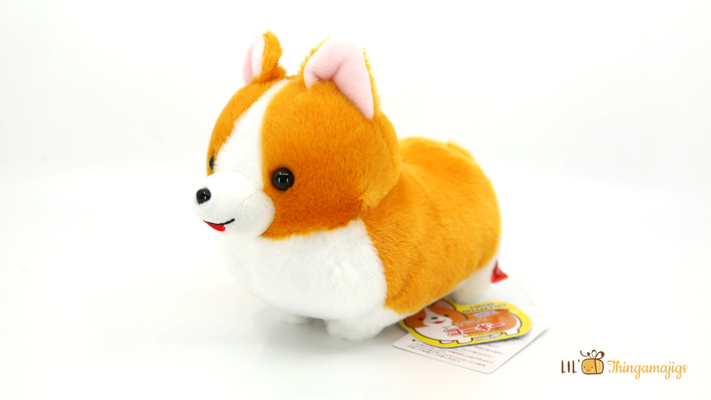 Amuse Corgi Soft Plush 7-1/2""