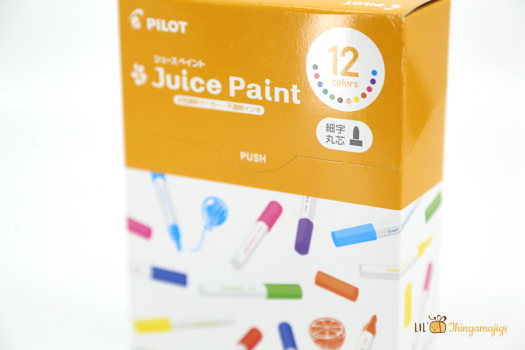Pilot Juice Paint Marker Set (S)(12 colors)