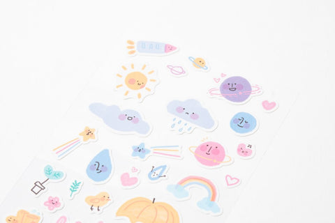 [DMV ONLY] My deco mate sticker set - weather theme 2020 04010190