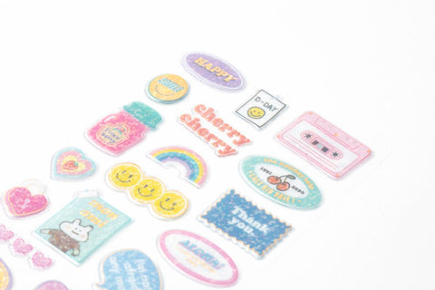 [DMV ONLY] My deco mate sticker set - embossing hologram 2020 04010198