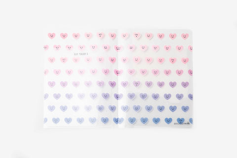 [DMV ONLY] Smiley Heart 2 Pocket File Folder 05001326